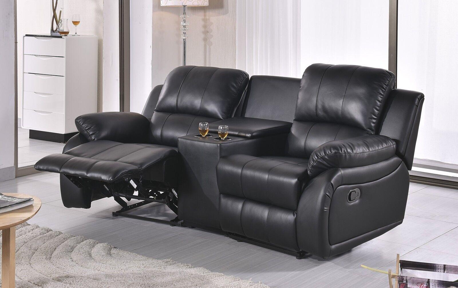 mikrofaser sofa kinosofa relaxcouch fernsehsofa heimkino 5129 cup 2 24 eur 899 00 picclick de. Black Bedroom Furniture Sets. Home Design Ideas
