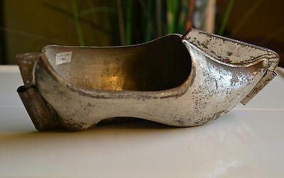 antike Schokoladenform Schuh um 1900 antique chocolate mold