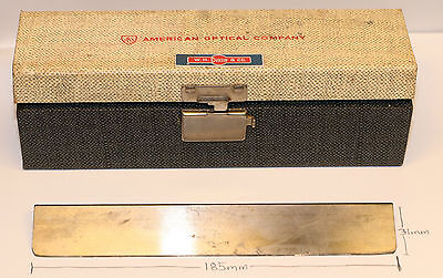 American Optical Microtome Blade Knife 185mm In Length 31mm In Height