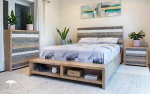 Wholesale Boatwood Bed Frame (Queen/King) - NEW