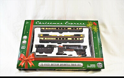 Christmas Express 20 Piece Battery Operated Train set (3072)