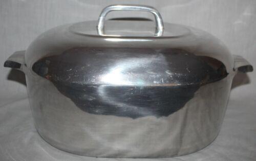 Vintage Wagner Ware Magnalite Sidney 0 Roaster Oval 4265M Dutch Oven & Triivet