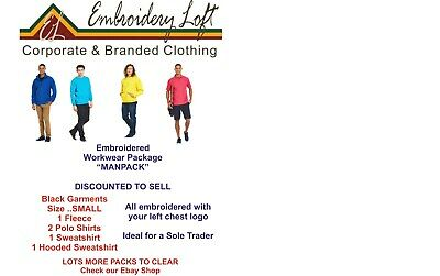 """EMBROIDERED WORKWEAR PACKAGE """"MANPACK"""" PRICE INCLUDE EMBROIDERED LOGO"""