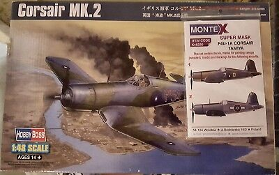 Corsair Mk.2 Hobby Boss 1/48 + Montex super mask
