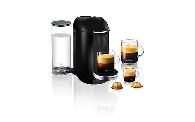 Nespresso Vertuoplus Deluxe Coffee And Espresso Machine Black Breville