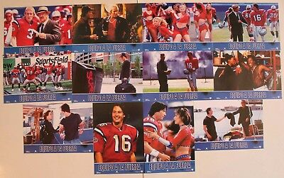 Keanu Reeves Replacements Spanish lobby card set 12 Gene Hackman football