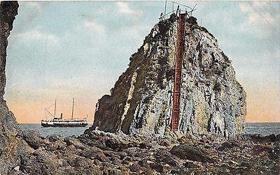 Santa Catalina Kan. Sugar Loaf ~ Klettern Treppe Zur Beobachtung Point Postkarte ()