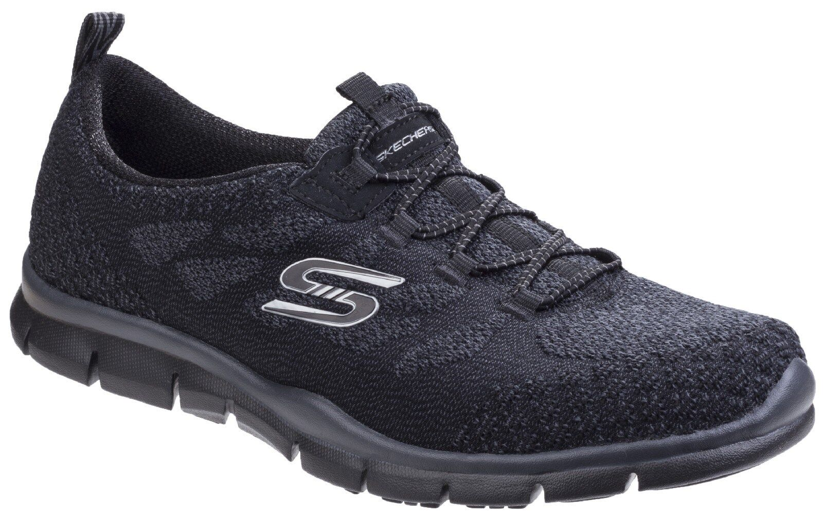 Skechers Gratis Sleek And Chic Trainers Memory Foam Slip On