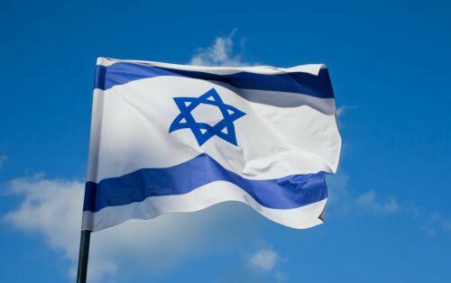 Israel Large Flag 5 x 3 FT Star of David Jewish Israeli National Country IDF