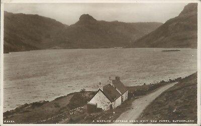 Real photo Kye sku ferry wayside cottage 1944 JB white