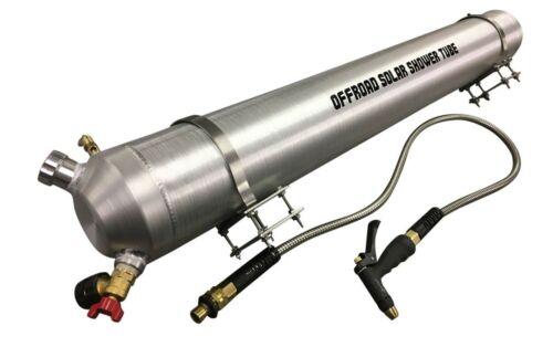 Brand New Offroad Solar Shower Tube - Air Pressurized  4 Gallon Portable Shower