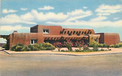 Alamogordo New Mexico Museum At White Sands National Monument 1940S Linen Pc
