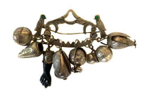 Penca de Balangandan Charm Amulet Pin Pendant