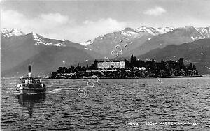 Cartolina Isola Madre Lago Maggiore Battello ed. Brunner - Italia - L'oggetto può essere restituito - Italia