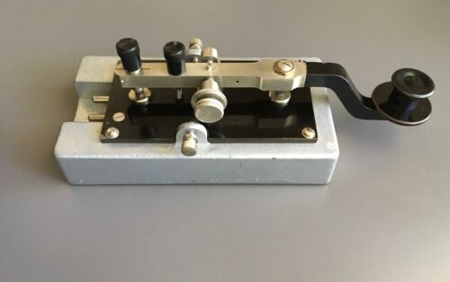 Large Italian Telegraph Radio Key (Morse) - Emilio Caimi