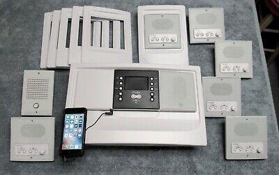 Intercom System Kit - NEW (6) Station - Room/Patio Kit DMC3-4 White M&S Retrofit Intercom System