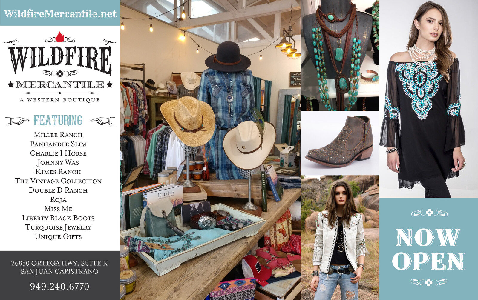 Wildfire Mercantile Western Fashion