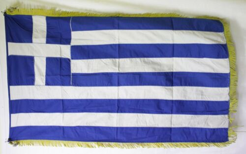 1970 GREEK GREECE FLAG  ( 128 Χ 75 CM )