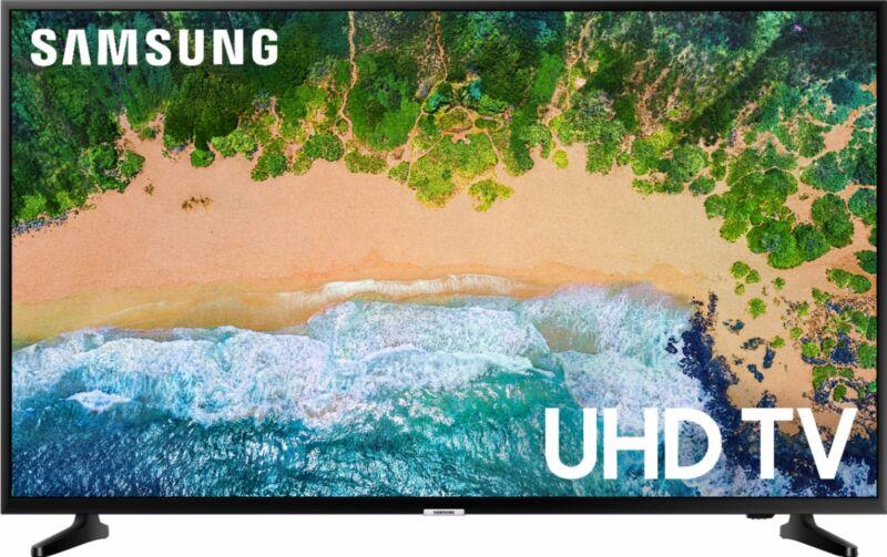 """Samsung - 50"""" Class NU6900 Series LED 4K UHD Smart Tizen TV"""