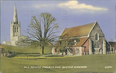 all saints church and castle Oakham