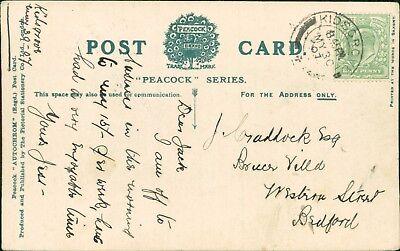 "Jack Craddock. Western Street, Bedford.  1907.  ""Jess""   CB.452"