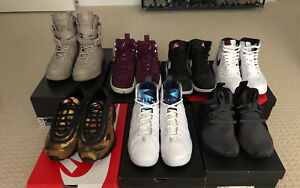 Nike and Adidas (men's size 6.5-8)