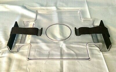 Mizuho Osi Plexiglas Face Plate With Securing Closure