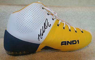 los angeles 83cc8 f90a1 MARQUIS DANIELS AUTOGRAPHED 2006-2007 INDIANA PACERS GAME WORN BASKETBALL  SHOE