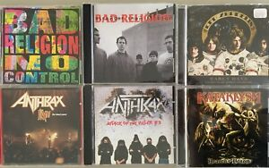Punk, Metal and Rock Cds