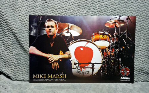 TWO<<>>Dashboard Confessional *Mike Marsh* Ddrum Promo Posters