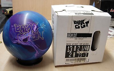 13 900 Global Retired Break Out ( Breakout ) Bowling Ball, Never Drilled