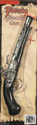 Buccaneer Gun 11 inches Pirate Musket Gun Flintlock Pistol Costume Accessory