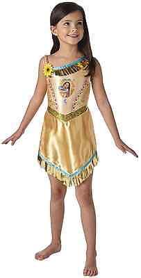 Mädchen Disney Prinzessin Pocahontas Indian Buch Tag Woche Verkleidung Kleid