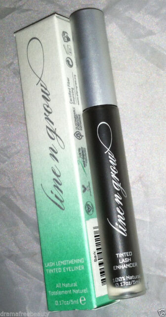 Line N Grow Natural Non-Toxic Lash Lengthening Tinted Eyeliner 'Midnight Blue""