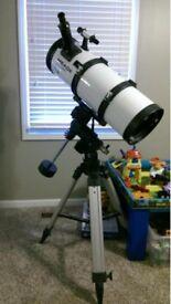 LXD55 Telescope + case of lenses
