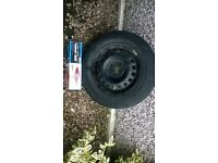 Vauxhall corsa (2011) spare wheel for sale.