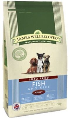 James Wellbeloved Fish And Rice Adult Small Breed 1.5kg ( Complete Dog Food)