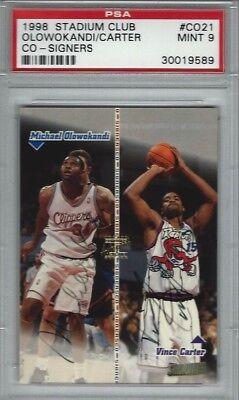 1998-99 Vince Carter Michael Olowokandi CO-SIGNERS