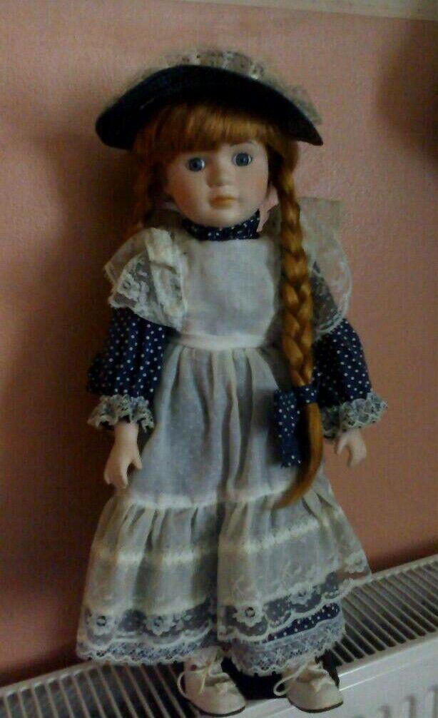 Promenade collection Imogen-a Porcelain doll