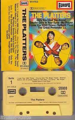 THE PLATTERS - Same ★ MC Musikkassette Cassette