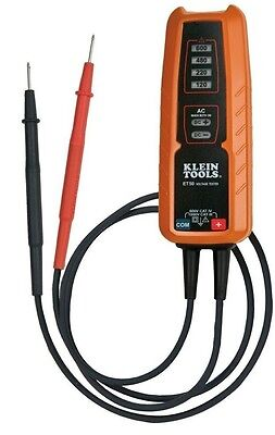 Klein Electrical Voltage Tester Acdc Electrical Tester Et50 Tough Meter