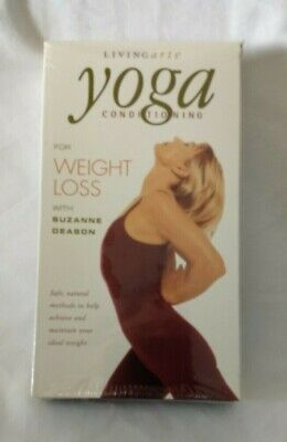 Gaiam Yoga Conditioning for Weight Loss Suzanne Deason VHS New and SEALED