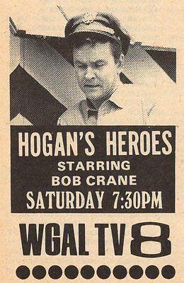 1975 Tv Ad Hogans Heroes Starring Bob Crane Wgal Lancaster Pennsylvania
