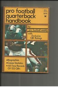 1973-Pro-Football-Quarterback-Handbook-Bob-Griese
