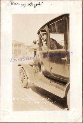 Portsmouth VA US Navy Pharmacist Mate School Drive 1921 Ford Model T Sedan Photo
