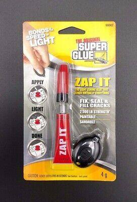 The Original Super Glue Corporation Zap It Bonds On Command 4 Gram 90002 New