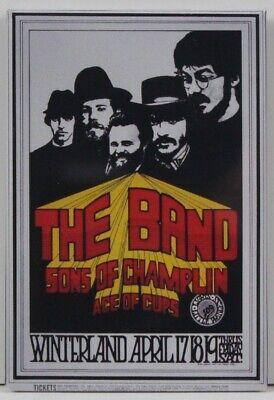 "The Band / Sons of Champlin Concert Poster 2"" X 3"" Fridge / Locker Magnet."