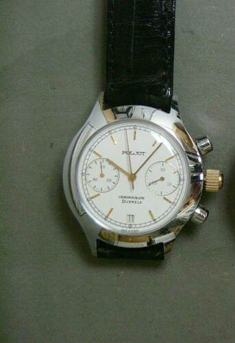 POLJOT CHRONOGRAPH 23 JEWELS MENS WRISTWATCH