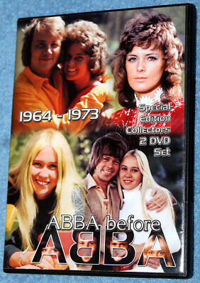 ABBA - RARE 'A B B A  before ABBA' Collector's 2DVD - LAST FEW AVAILABLE!