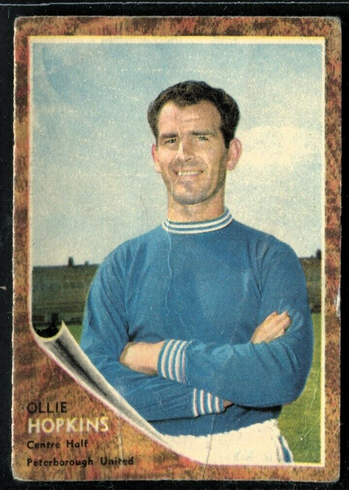 B1 A/&BC Make-a-photo 1963 Ollie Hopkins Peterborough United No 31